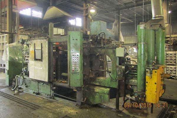 Used HPM II-400-A 400 Ton Cold Chamber Die Casting Machine