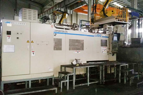 Picture of Ube UB850iS2 Horizontal Cold Chamber Aluminum High Pressure Die Casting Machine For Sale DCMP-3780