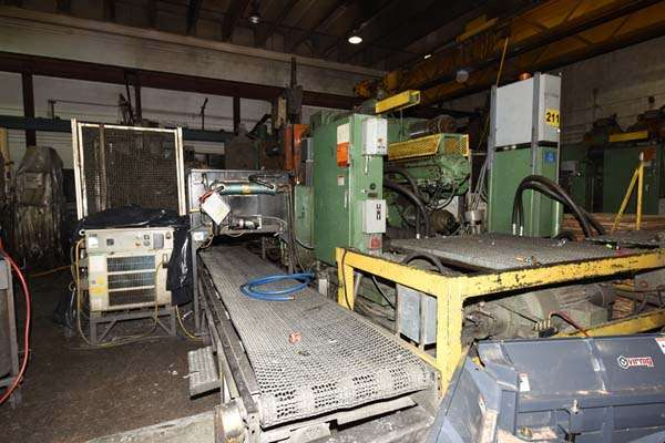 Picture of Prince 1242 CCA Horizontal Cold Chamber Aluminum High Pressure Die Casting Machine For Sale DCMP-3798