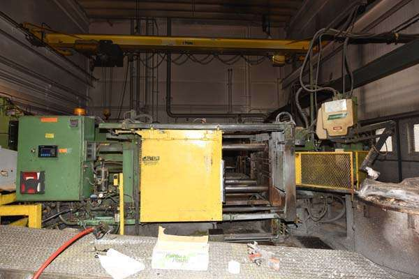 Picture of HPM II-400-A Horizontal Cold Chamber Aluminum High Pressure Die Casting Machine For Sale DCMP-3804