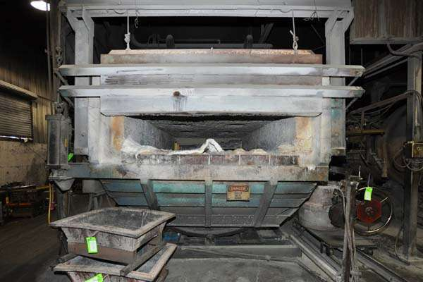 Picture of FW Schaefer FWS-TF-1500 Reverberatory Type Tilting (Rotating) Barrel Furnace  For Sale DCMP-3889