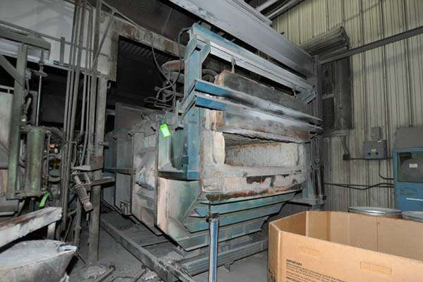 Picture of FW Schaefer FWS-TF-1500 Reverberatory Type Tilting (Rotating) Barrel Furnace  For Sale DCMP-3892