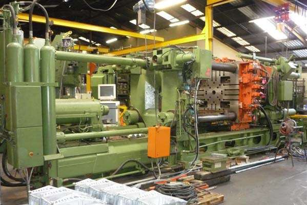 Picture of Buhler SC 10 120 Horizontal Cold Chamber Aluminum/Magnesium Capable High Pressure Die Casting Machine For Sale DCMP-3958