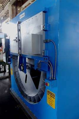 Picture of Dynarad RL-24R Electrically Heated Magnesium Ingot Preheater and Furnace Charging Unit For Sale DCMP-3971