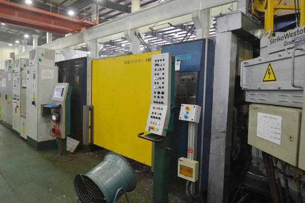 Picture of Buhler Evolution B 140 DL Horizontal Cold Chamber Aluminum/Magnesium Capable High Pressure Die Casting Machine For Sale DCMP-4020