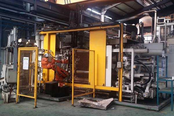 Picture of Ube UB670iS2 Horizontal Cold Chamber Aluminum High Pressure Die Casting Machine For Sale DCMP-4032