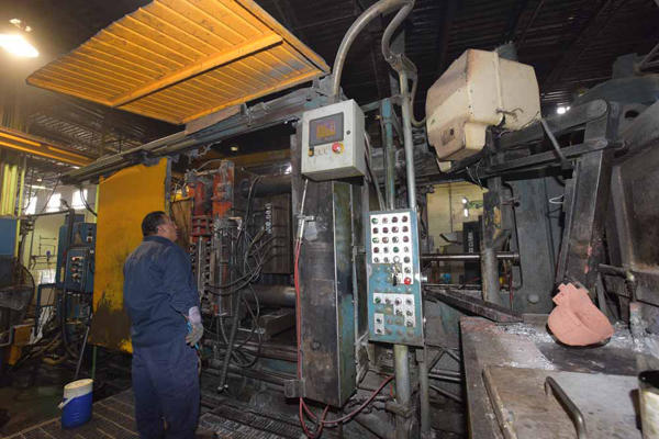 Picture of Prince 836 CCA Horizontal Cold Chamber Aluminum High Pressure Die Casting Machine For Sale DCMP-4046