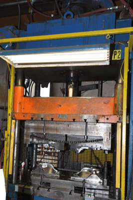 Picture of Prince Trim Press T-50 Four Column (Post) Vertical Hydraulic Die Casting Trim Press For Sale DCMP-4060