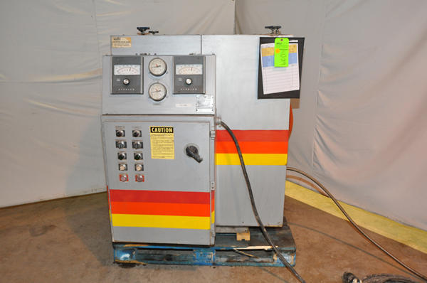 Picture of Sterlco F6026-DX Dual (two) Zone Portable Hot Oil Process Heater Temperature Control Unit For Sale DCMP-4089