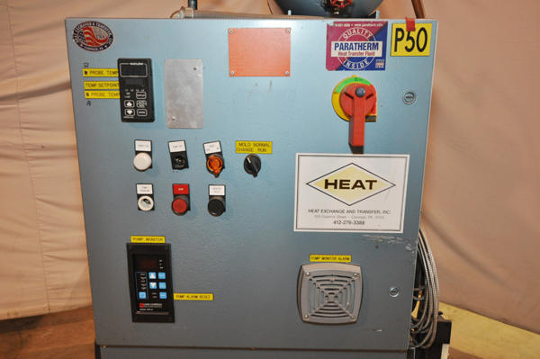 Used HEAT Heat Exchange And Transfer KM550B-12-483 12 kW