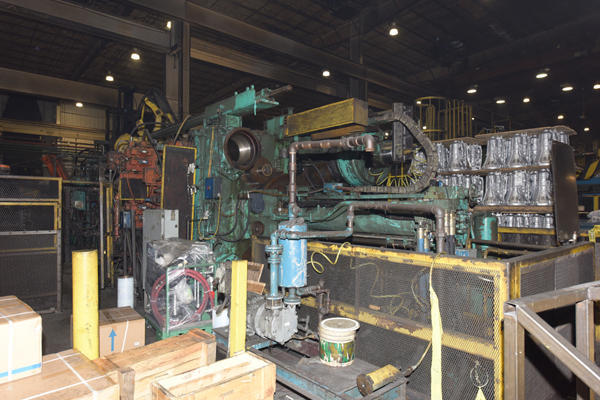 Picture of Prince 3569 CCA Horizontal Cold Chamber Aluminum High Pressure Die Casting Machine For Sale DCMP-4124