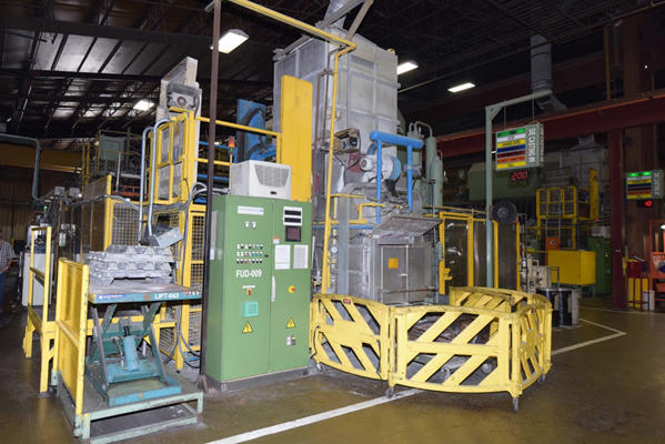 Picture of Ube UB850iS2 Horizontal Cold Chamber Aluminum High Pressure Die Casting Machine For Sale DCMP-4133