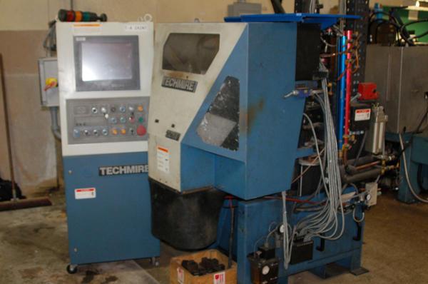 Picture of Techmire 22 GZNT (Gas furnace, zinc, NT Design) Four Slide/Multi-slide Hot Chamber Zinc (Zamak) High Pressure Die Casting Machine For Sale DCMP-4154