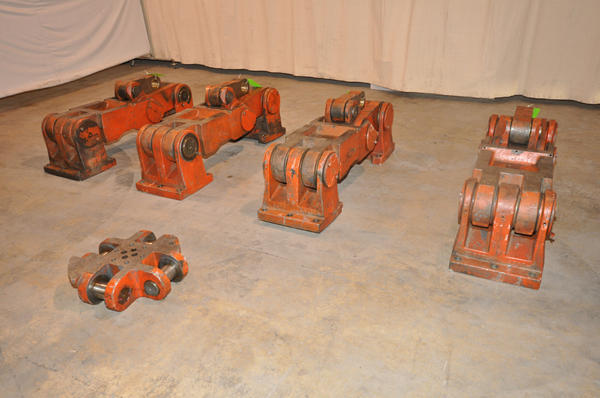 Toggle linkage with linkage pins (rebuilt) for Prince Model 836, 800 ton cold chamber die casting machine