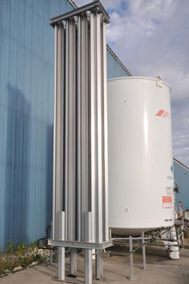 Used UCAR TM3000 3,000 Gallon Cryogenic Bulk Storage Tank
