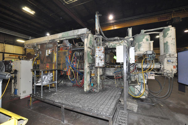 Picture of Prince 836 CCA Horizontal Cold Chamber Aluminum High Pressure Die Casting Machine For Sale DCMP-4288