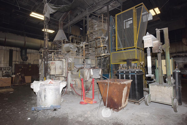 Picture of Lindberg MPH 62-SM4000 Stack (tower/shaft) Type Stationary Aluminum Melting and Holding Furnace For Sale DCMP-4336