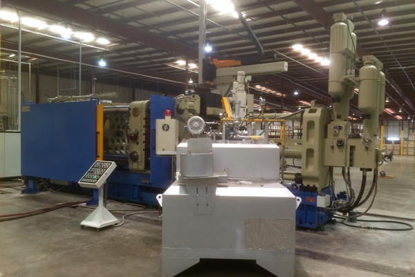 Picture of Ningbo Sijin SJ-1250 Horizontal Cold Chamber Aluminum High Pressure Die Casting Machine For Sale DCMP-4409
