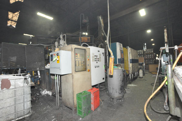 Picture of Buhler 84 DL Horizontal Cold Chamber Aluminum/Magnesium Capable High Pressure Die Casting Machine For Sale DCMP-4506