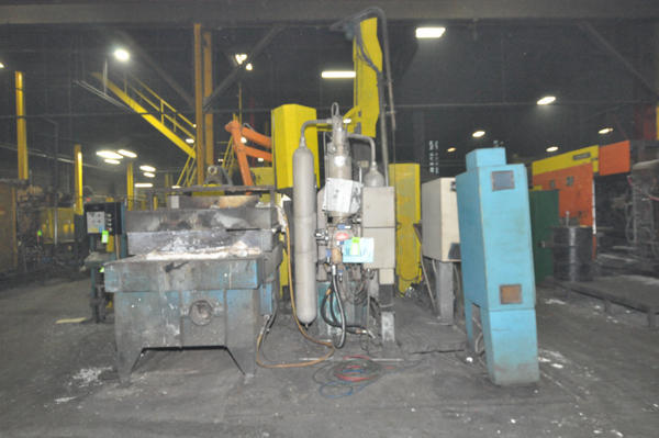 Picture of Buhler Classic 53 D Horizontal Cold Chamber Aluminum/Magnesium Capable High Pressure Die Casting Machine For Sale DCMP-4514