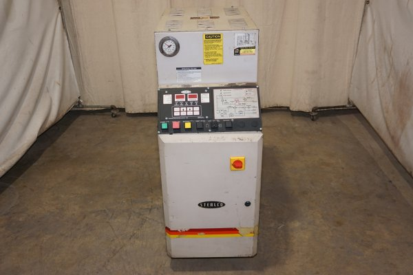 Picture of Sterlco M2B2016-M1 Single Zone Portable Hot Oil Process Heater Temperature Control Unit with Cooling Water Circuit For Sale DCMP-4536