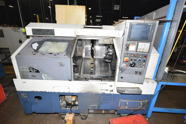 Used Mori Seiki CL-200B/500 200 13 5 kw Spindle x 370 mm