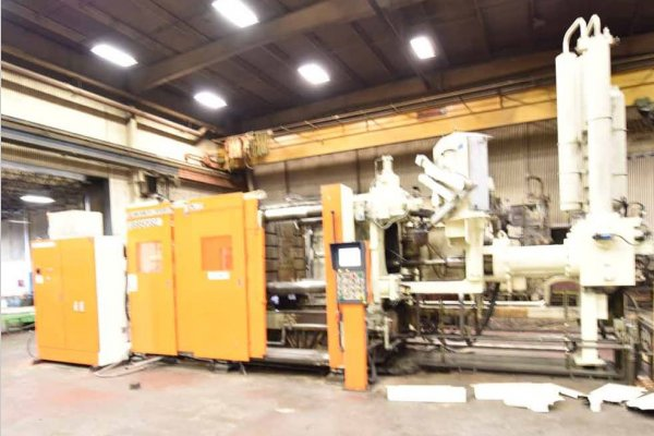 Picture of Ube UB850iS2 Horizontal Cold Chamber Aluminum High Pressure Die Casting Machine For Sale DCMP-4658