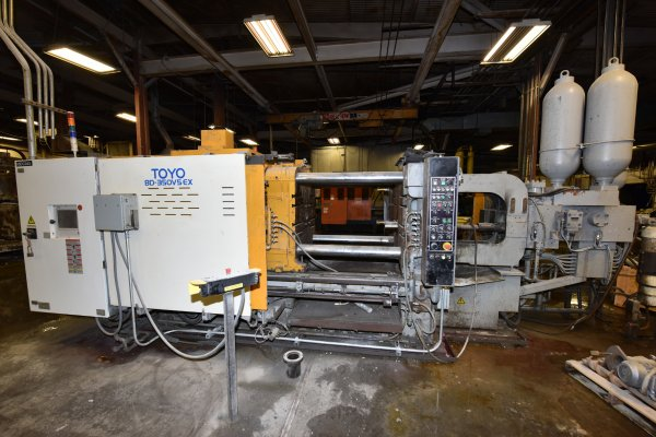 Picture of Toyo Machinery BD-350V5 EX Horizontal Cold Chamber Aluminum High Pressure Die Casting Machine For Sale DCMP-4661
