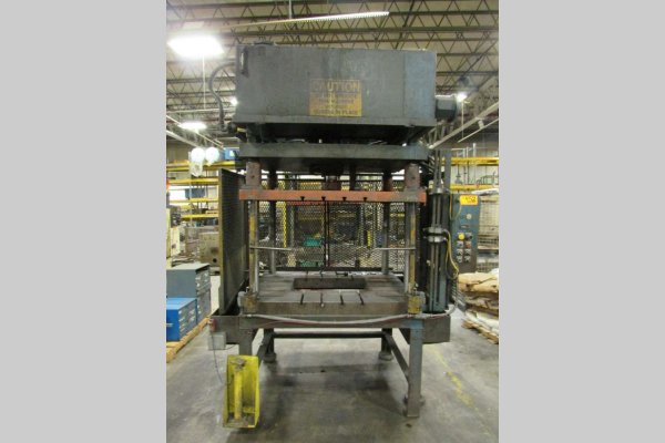 Picture of Metal Mechanics DCT-35 Four Column (Post) Vertical Hydraulic Die Casting Trim Press For Sale DCMP-4664