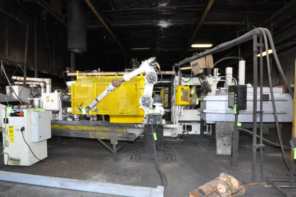Picture of HPM D-800-A Horizontal Cold Chamber Aluminum High Pressure Die Casting Machine For Sale DCMP-4802