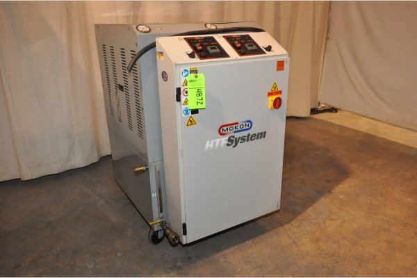 Picture of Mokon Dual (two) Zone Portable Hot Oil Process Heater Temperature Control Unit with Cooling Water Circuit DCMP-4872