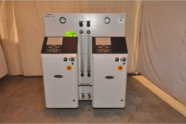 Picture of Sterlco M2B2026-UI Dual (two) Zone Portable Hot Oil Process Heater Temperature Control Unit For Sale DCMP-4880