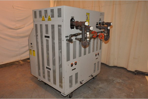 Picture of Sterlco Dual (two) Zone Portable Hot Oil Process Heater Temperature Control Unit DCMP-4880