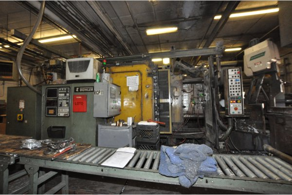 Picture of Buhler H-630 B V5 Horizontal Cold Chamber Aluminum High Pressure Die Casting Machine For Sale DCMP-4957