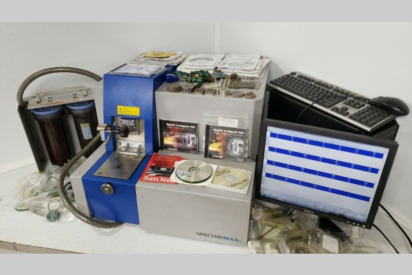 Picture of Spectro Analytical MAXx LMF04 Metal Analytic Spectrometer For Sale DCMP-4966